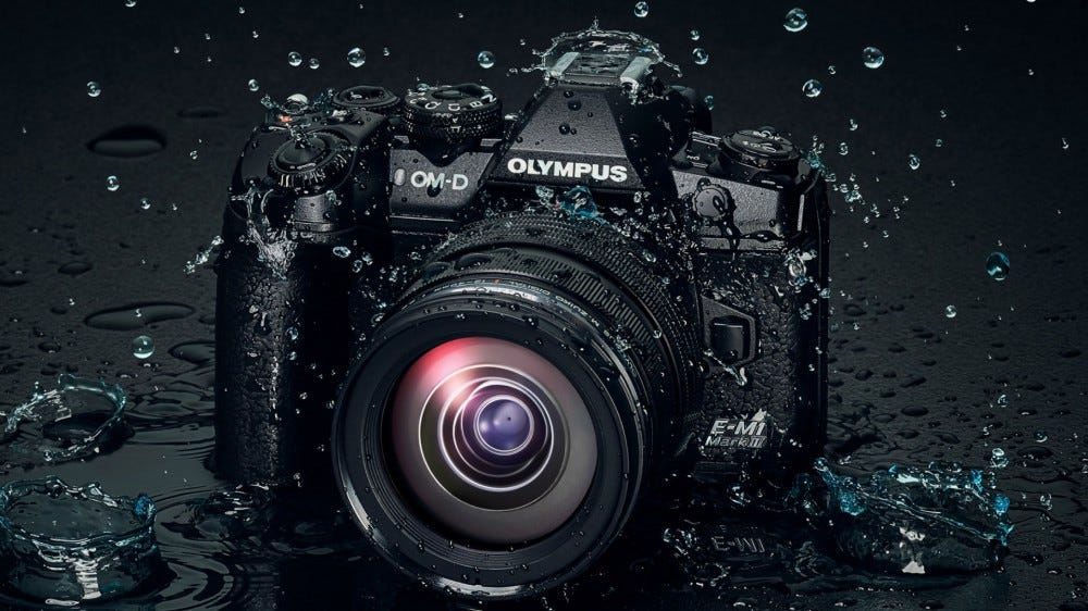 Olympus OM-D dSLR digital camera