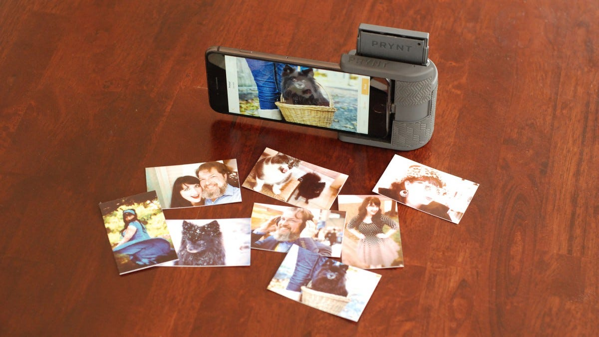 more photos dcf0a 60560 Prynt Pocket Review: A Retro Instant Photo Printer for Your iPhone ...