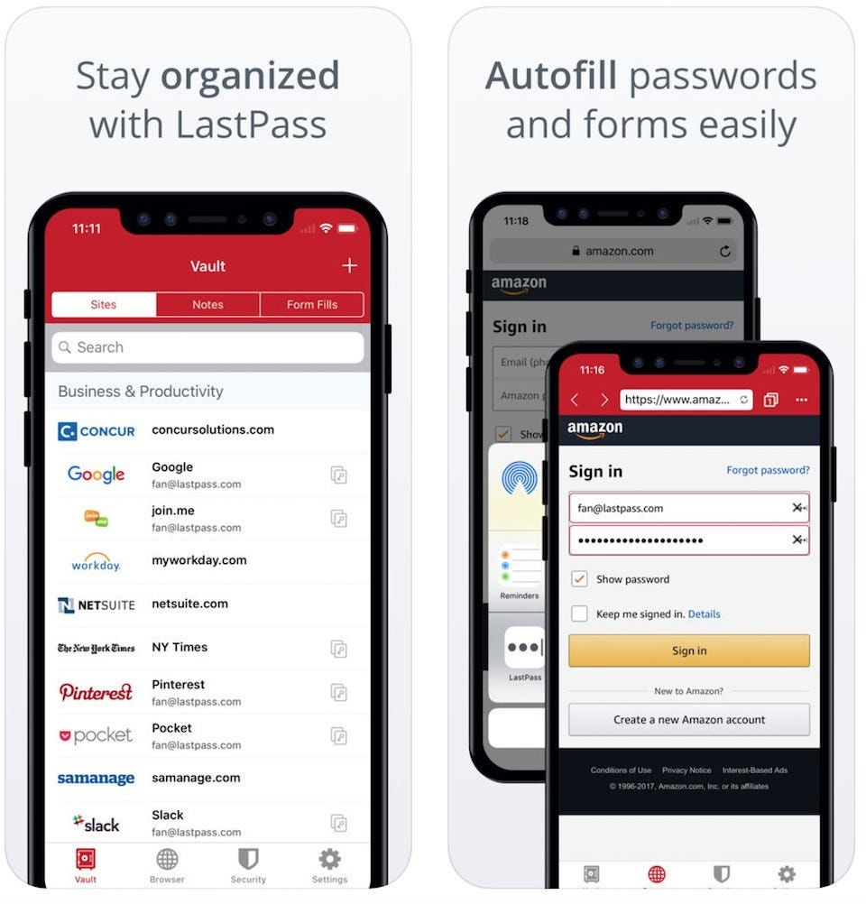 5 Great Phone Apps For Keeping Your Passwords Secure