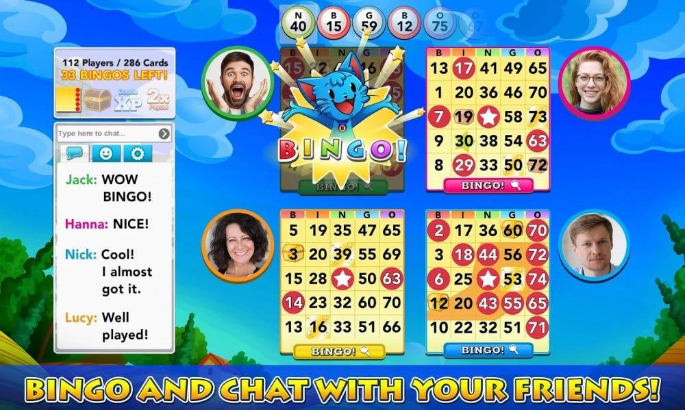 Bingo Blitz bingo mobile game