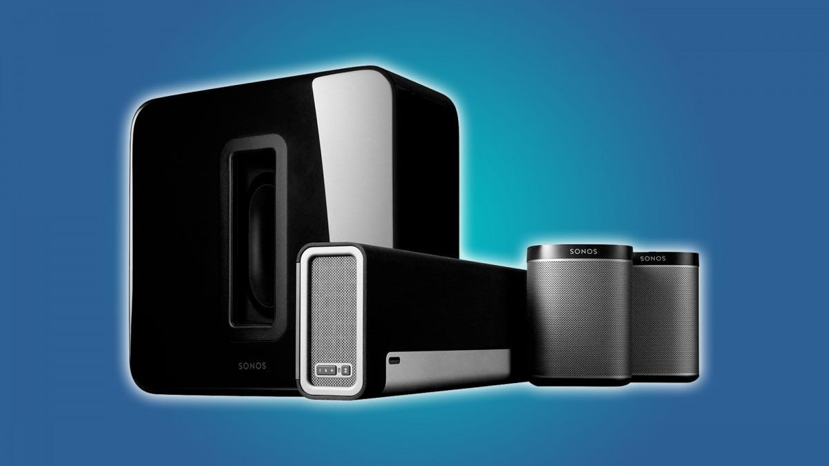 Wireless surround sound speaker article header image.