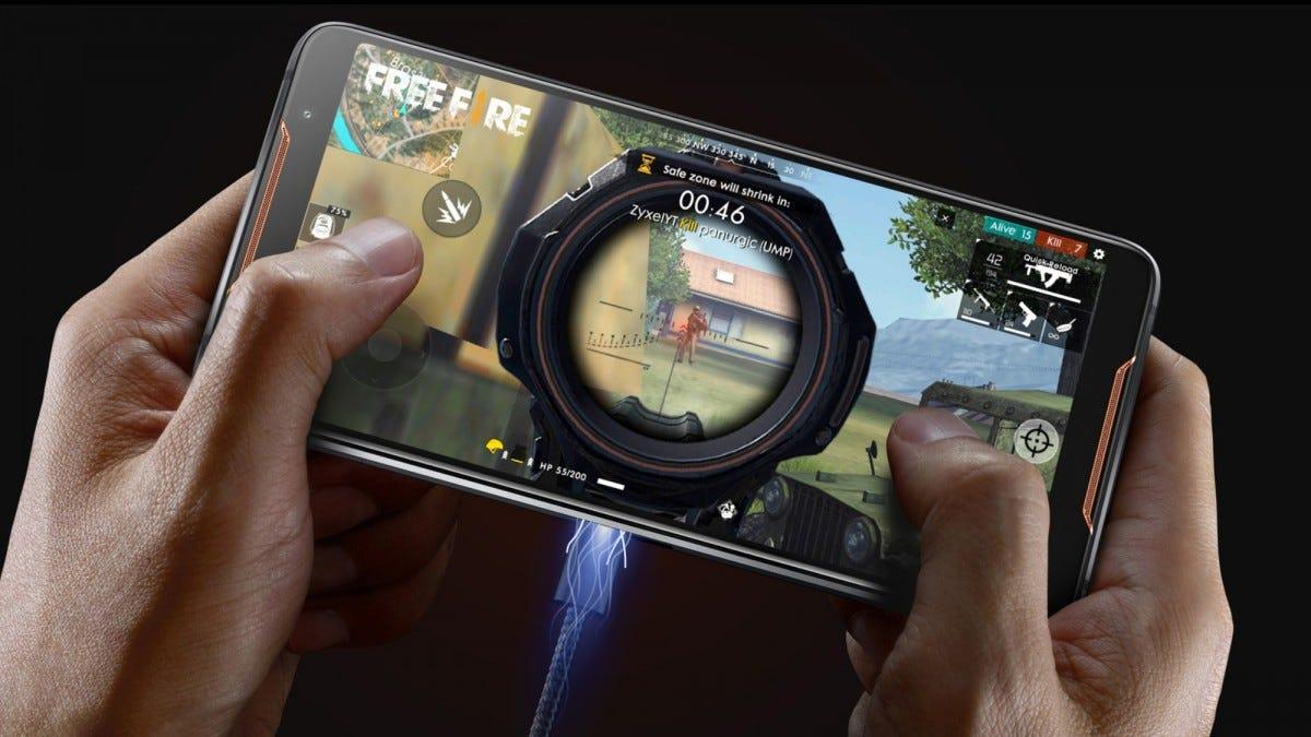 asus, rog phone, gaming, mobile gaming, dock, accessory
