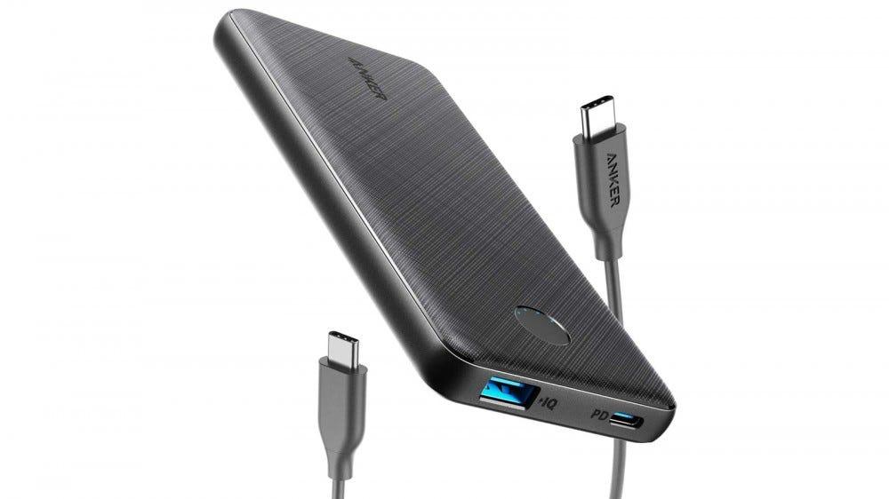 Anker PowerCore Slim 10000 PD USB-C 18W Battery Bank