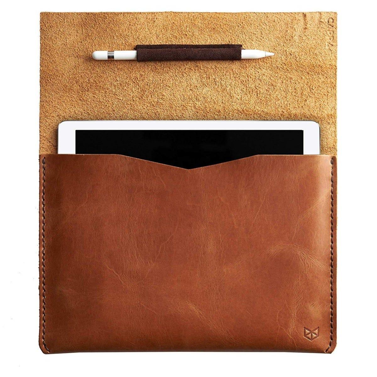 leather, ipad, ipad case, premium, sleeve, capra, capra leather