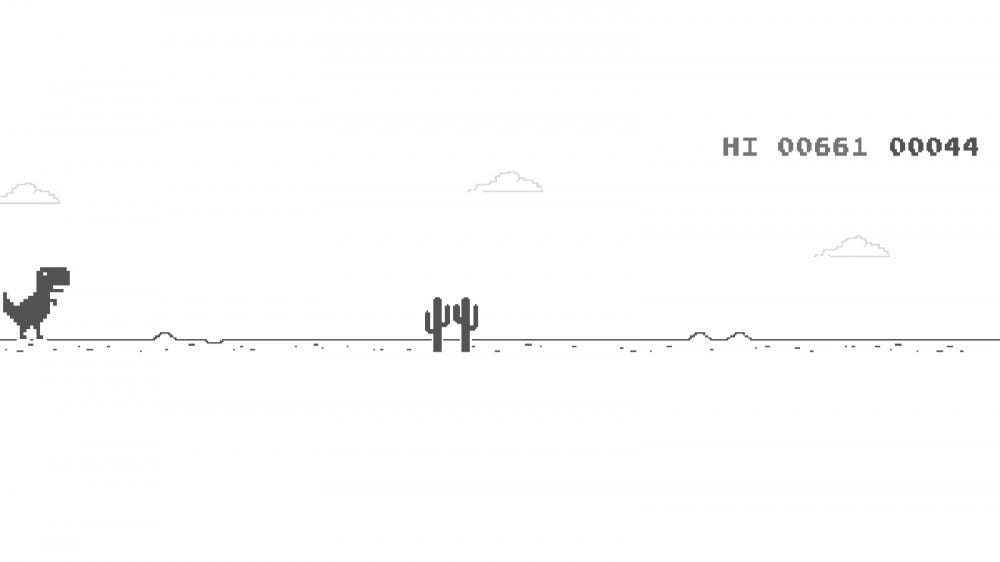 Google Dinosaur Game Screenshot