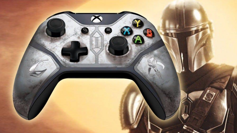 Mandalorian Xbox One controller