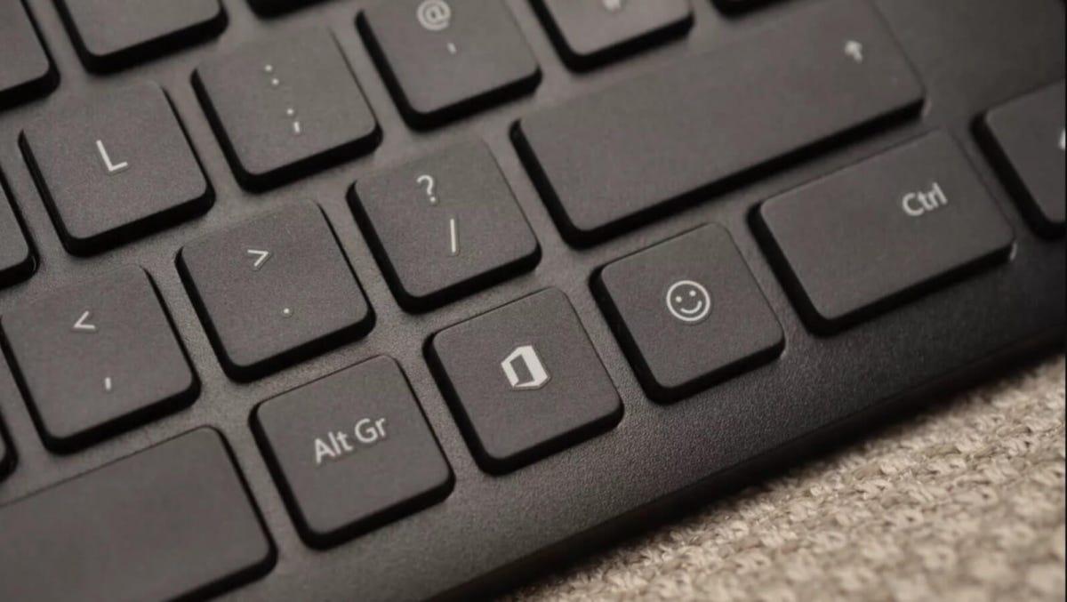 Microsoft Keyboard Emoji and Office Keys