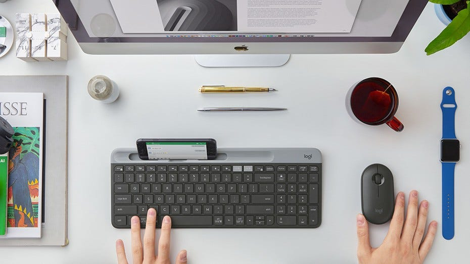 Logitech Wireless Mouse Keyboard