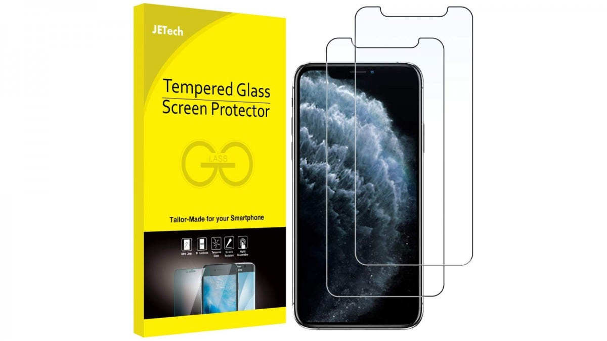 JETech iPhone 11, 11 Pro, and 11 Pro Max Screen Protectors