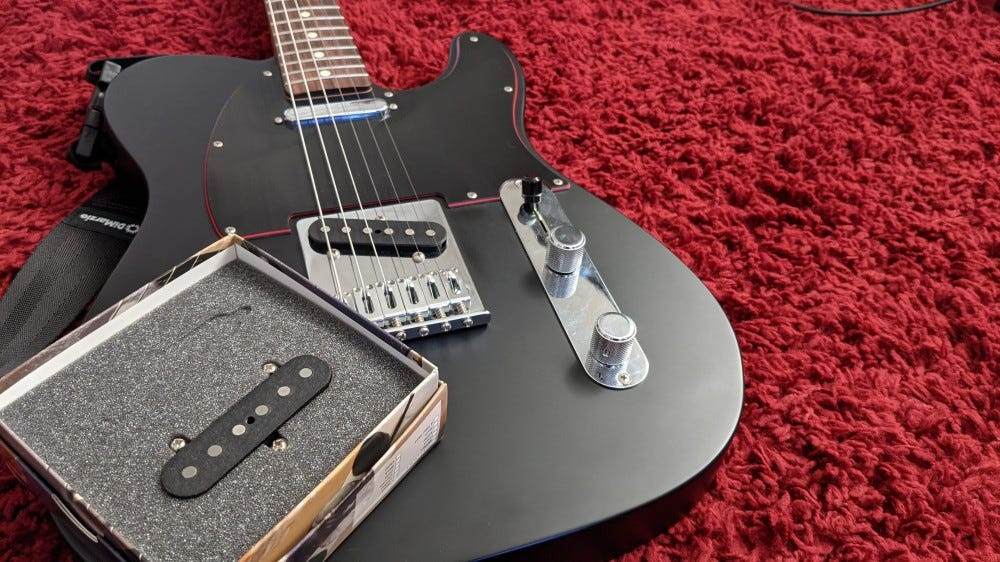 Limited Edition Fender Noir Telecaster