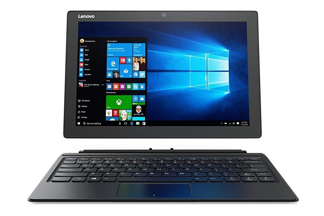 Lenovo, miix, miix 510, tablet, convertible tablet, student, student laptop