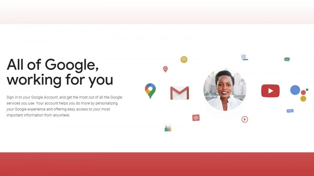 A Google account gets you free email and other useful apps you can access anywhere