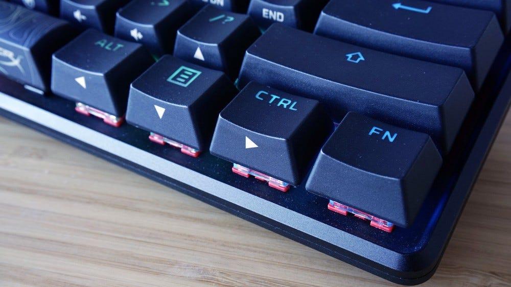 HyperX Alloy Origins 60 function button