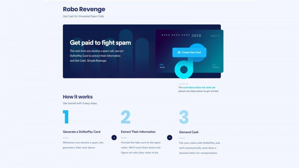 "Ne fizess ""Robo Revenge"" utasítások oldal"