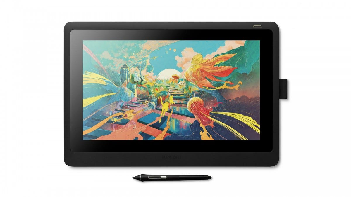 A photo of the Wacom Cintiq 16