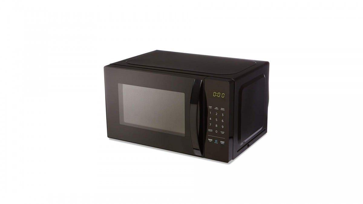 The AmazonBasics Alexa-Enabled Microwave