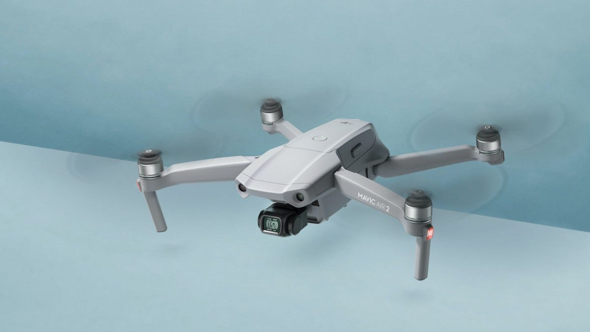 DJI Mavic Air 2 in air
