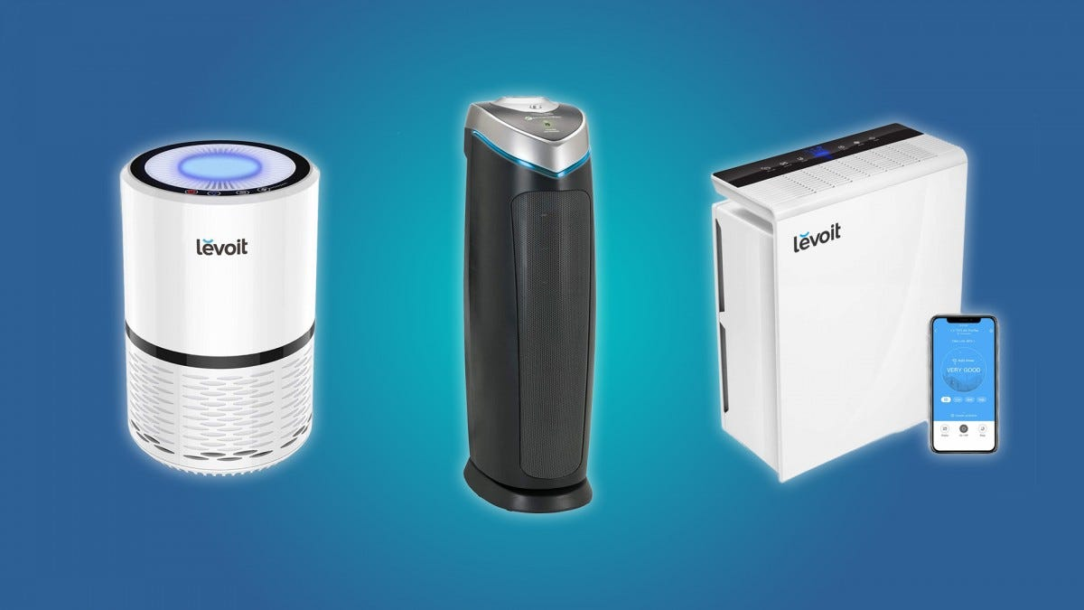 The LEVOIT LV-PUR131, theLEVOIT LV-H132, and the GermGuardian AC4825
