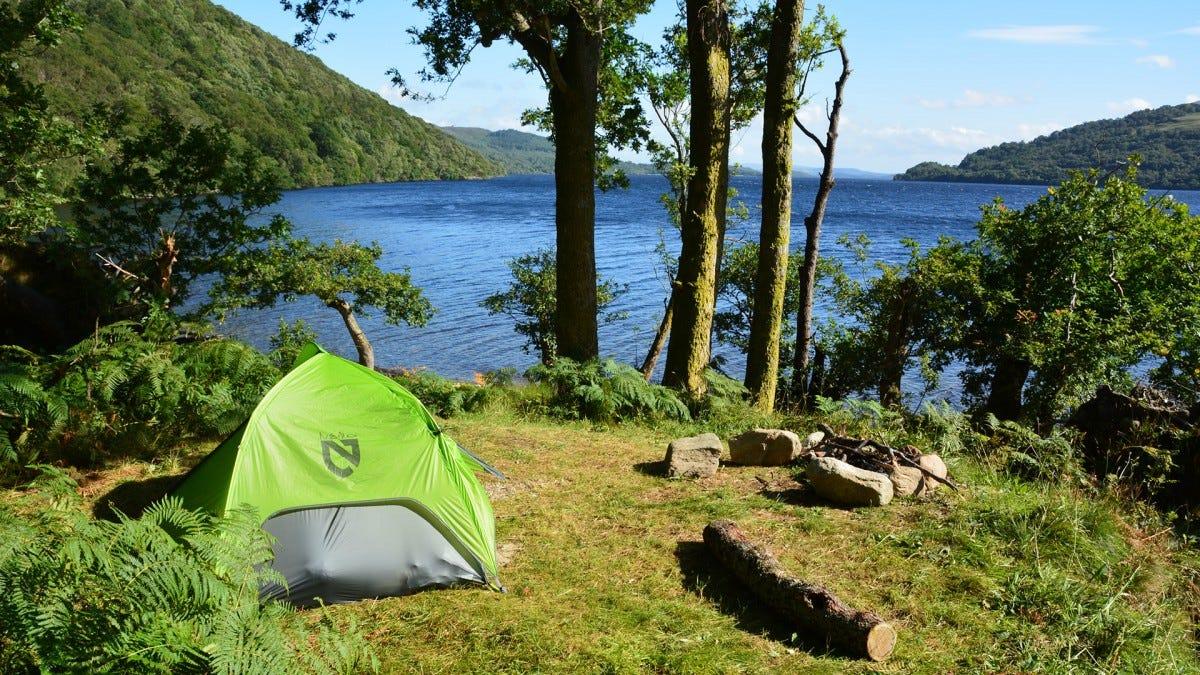 Loch Lomond Scotland camping