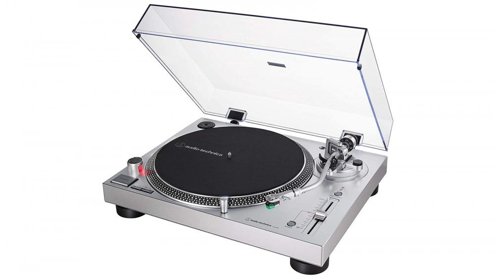Audio-Technica LP120X turntable best recommendation for new vinyl collectors