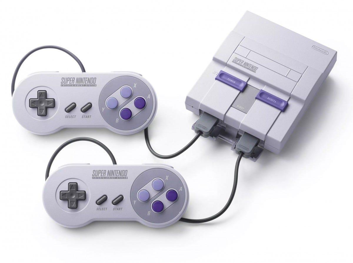 snes classic, mini, console, nintendo,