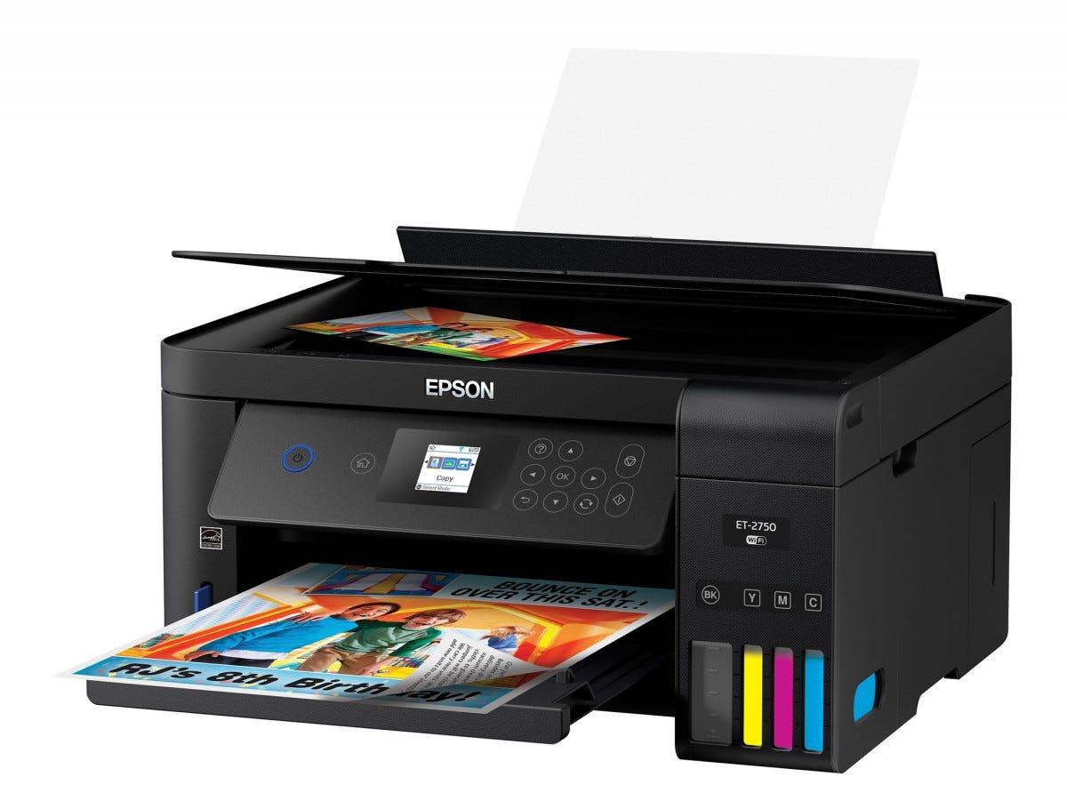 The Epson Expression ET2750 printer