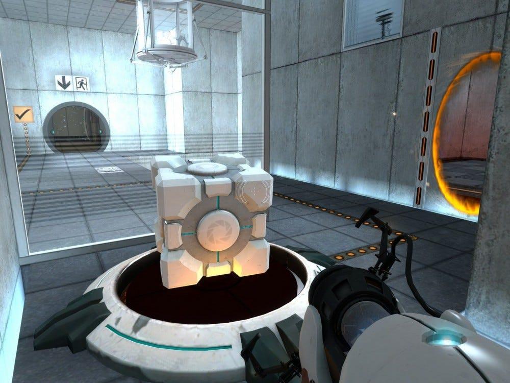 a screenshot from Portal