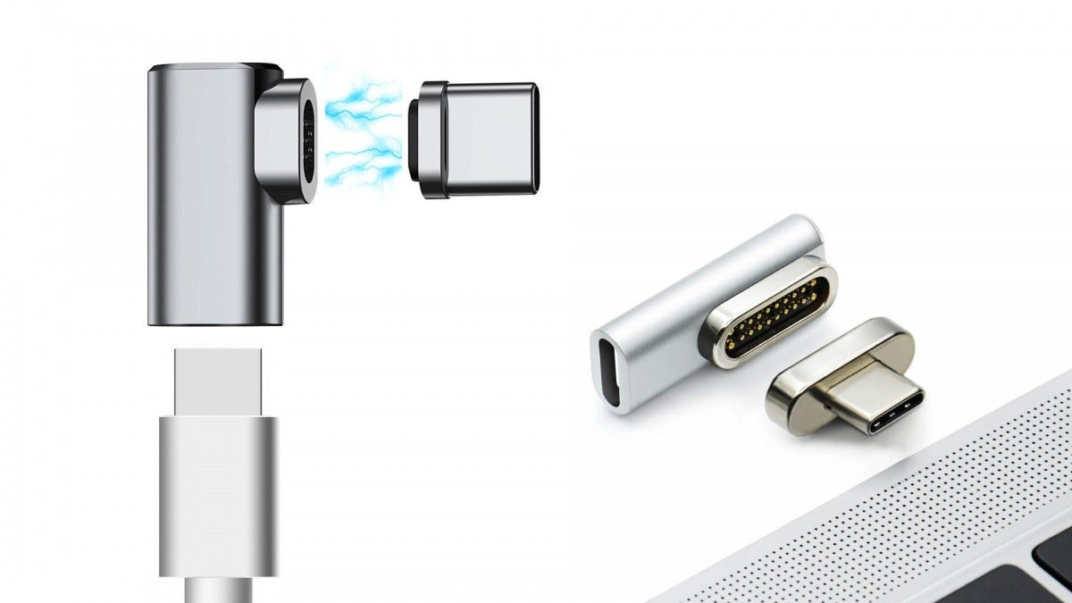 The Dreamvasion and Knaive breakaway USB-C adapters.