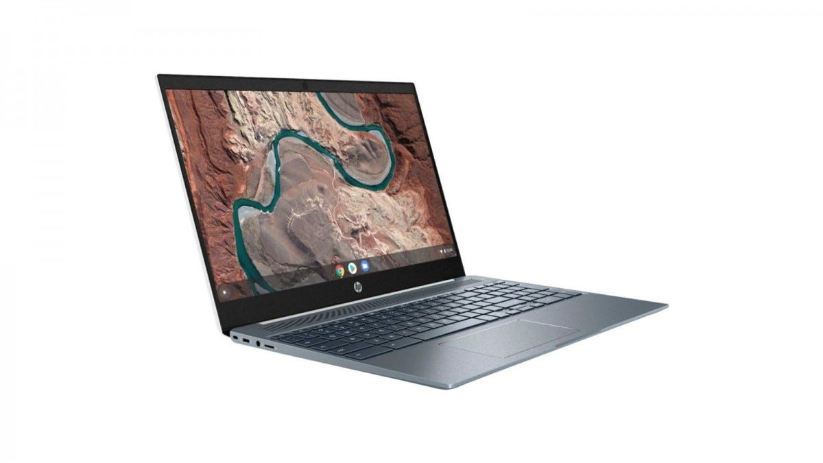 The HP Chromebook 15