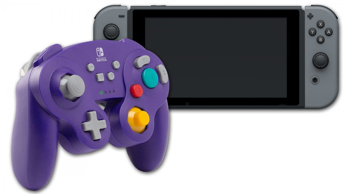 switch, nintendo, gamecube, wireless, wireless controller, powera