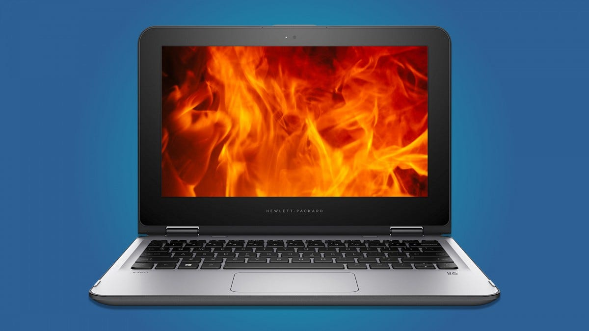 HP Is Recalling Some Laptop Models Due to Slight Battery