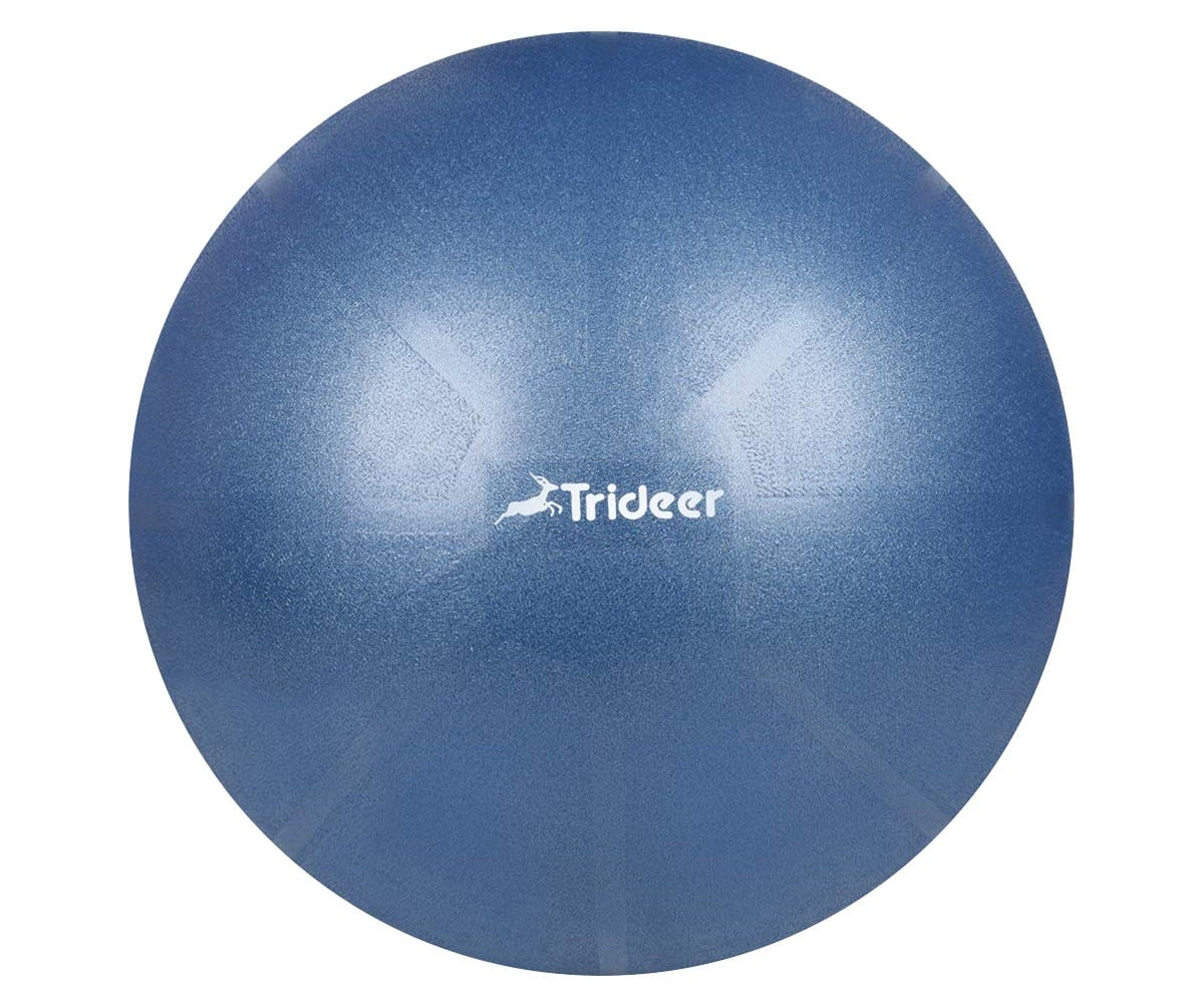 The Trideer exercise ball is burst-resistant and can support more than 2000 pounds.