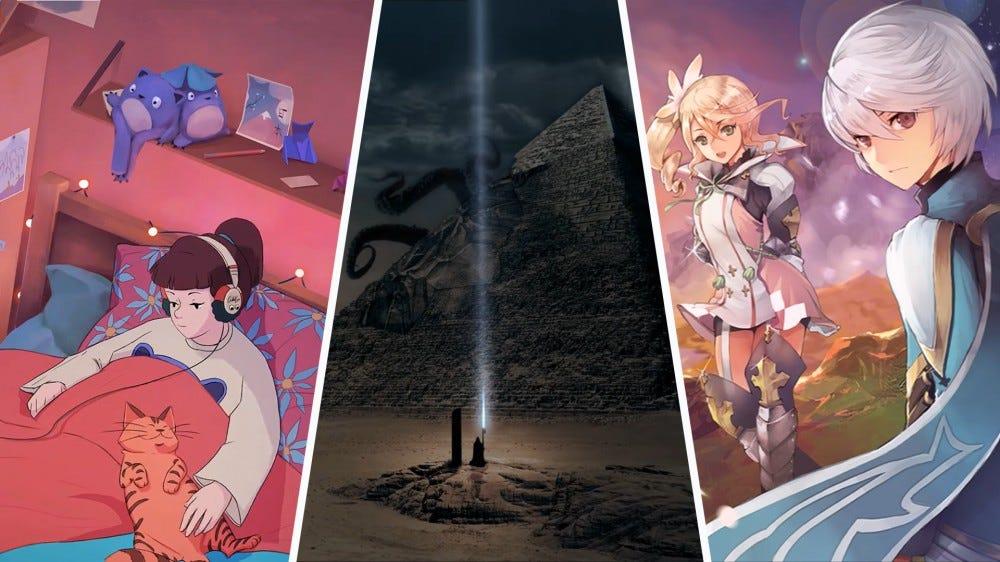 Három YouTube-csatorna képernyőképeinek kollázsa: ChilledCow, Cryo Chamber és SuperRedGames