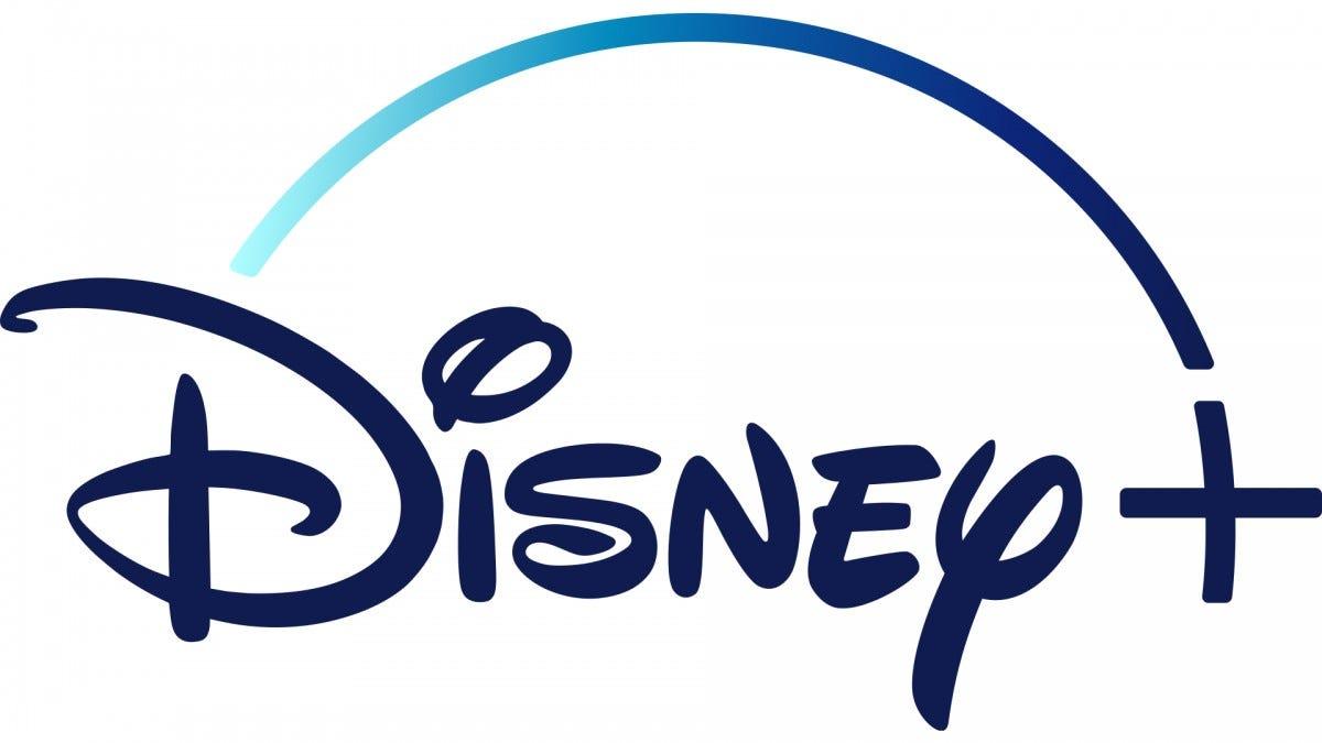 The Disney+ logo on a white background.
