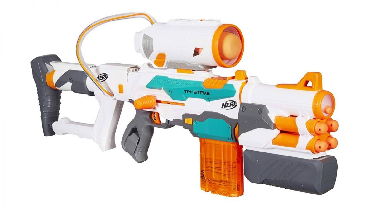 The Nerf Modulus Tri-Strike