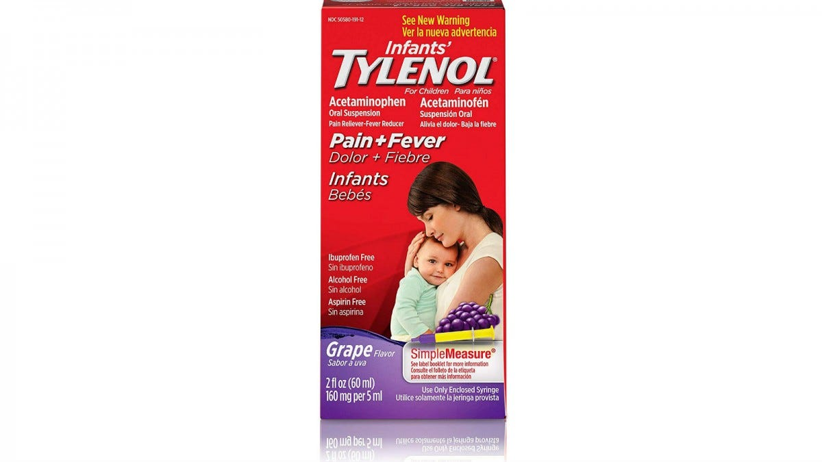 Infants' Tylenol