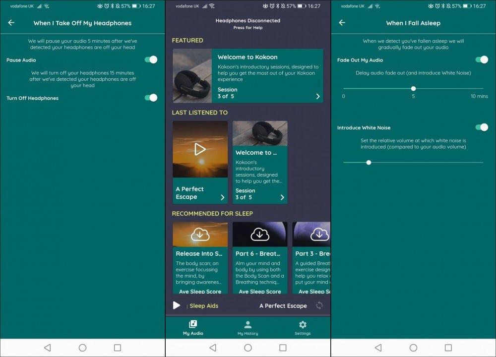 main menu screen shots