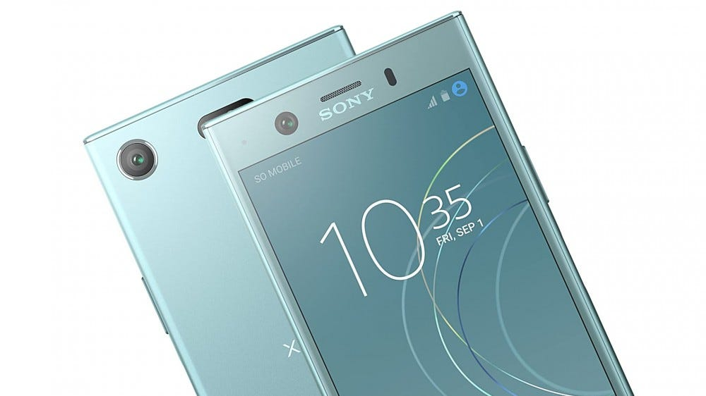 Sony Xperia XZ1 Compact, a plastic phone from 2017.