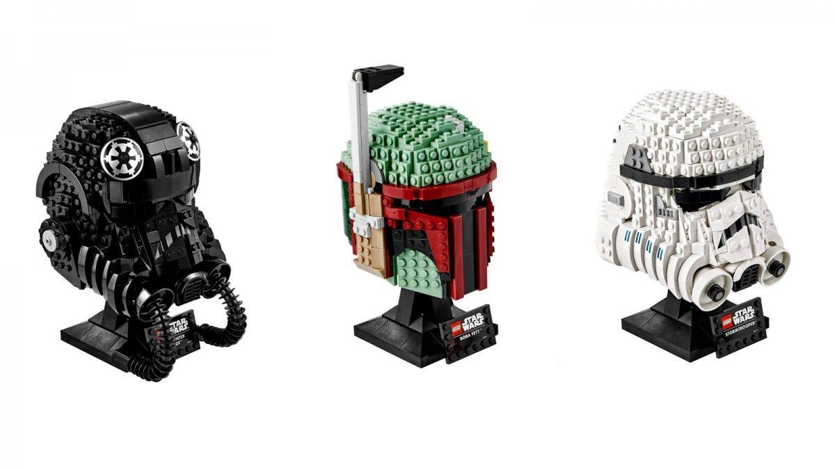 LEGO Star Wars Helmets Series
