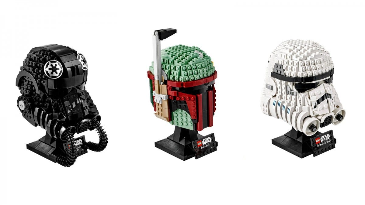 LEGO Star Wars Helmets Series