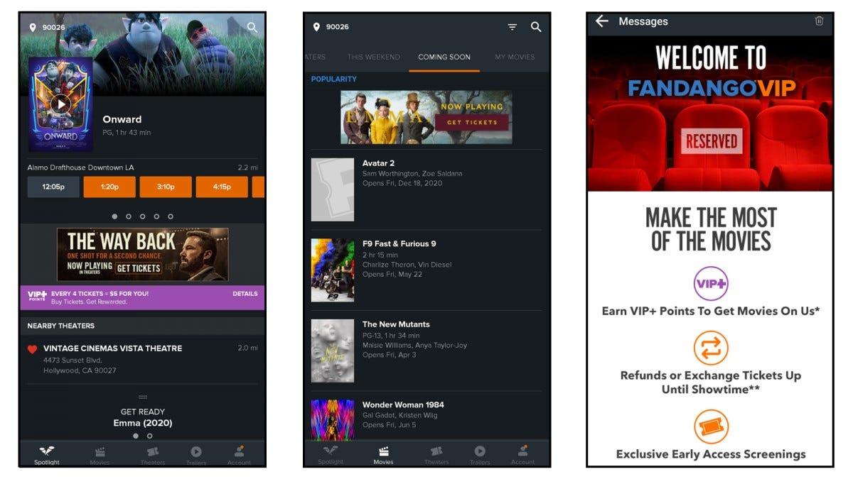 Fandango Screenshots