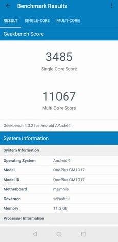 OnePlus 7 Pro Geekbench