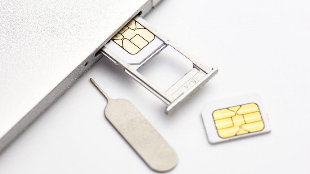 Phone SIM card, dual SIM