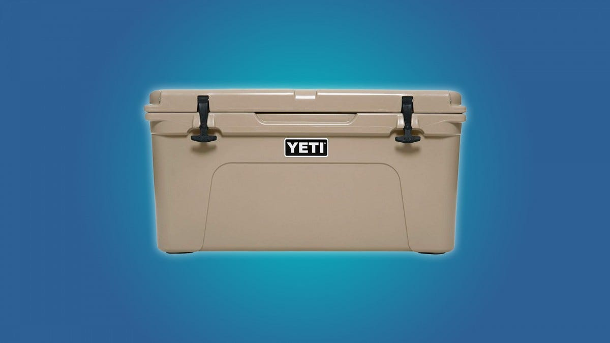 The YETI Tundra 65 57qt Cooler
