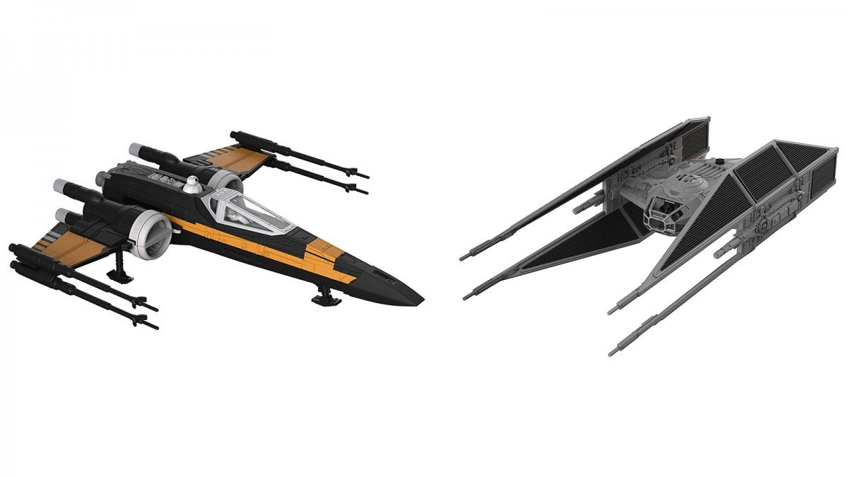 Revell X-Wing and Tie Silencer