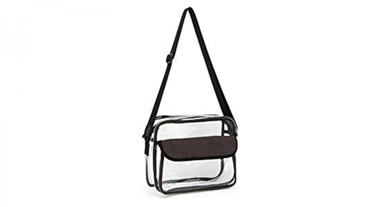 The Medium PACMAXI Clear Messenger Bag