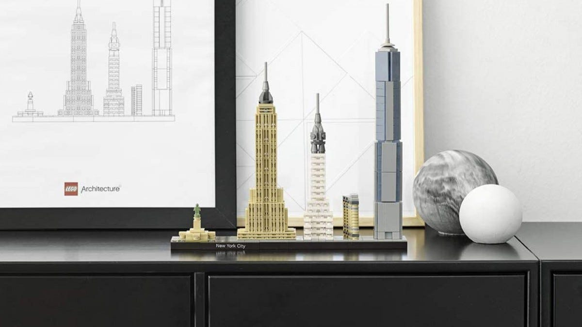 LEGO Architecture New York City Skyline