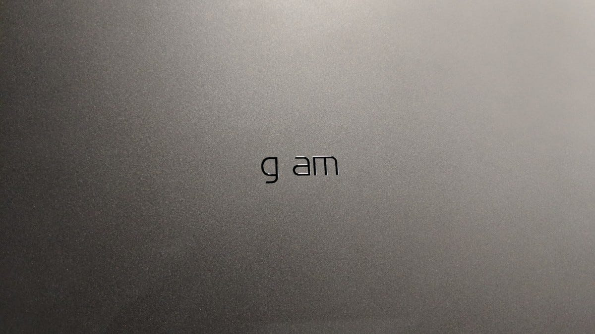 "The ""r"" fell off...somewhere. Behold the LG gam!"