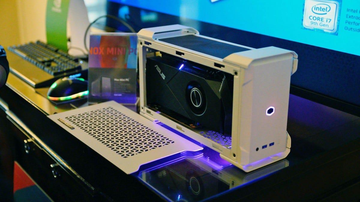 CyberPowerPC Intel NUC concept