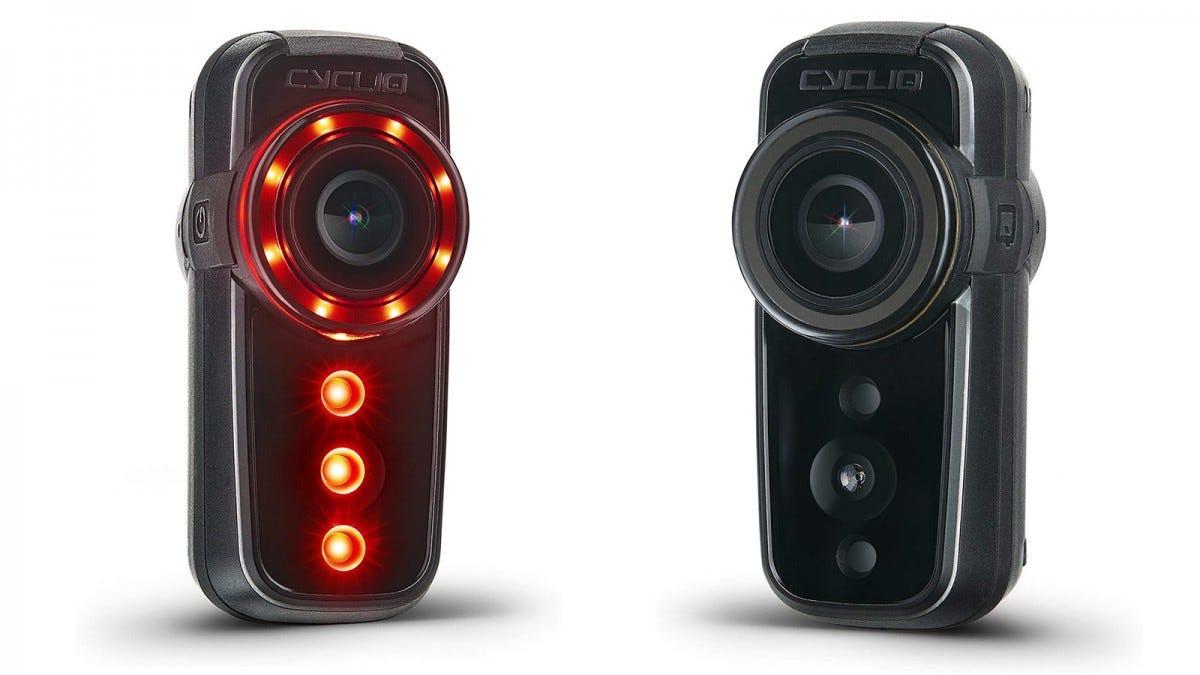 The CYCLIQ Fly6 CE HD Bike Camera + Rear Light.